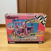 Powerpuff Girls Doll House With Tricks + Collection Figure Set Sega Toys