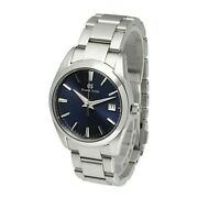 N Mint Grand Seiko Heritage Collection Sbgx265 Navy Cal.9f62 Watch Quartz Menand039s