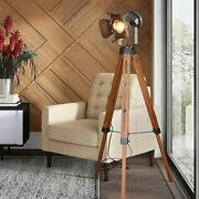 Industrial Floor Lamps Farmhouse Tripod Vintage Steampunk For Living Room 55