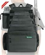 Rodeel Fishing Tackle Backpack 2 Fishing Rod Holders Without 4 Tackle Boxes,larg