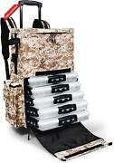 Dawn Upon Extra Large Rolling Fishing Backpack - 3700 Size Tackle Boxes Customiz