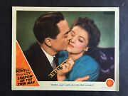 Shadow Of The Thin Man '41 William Powell Kisses Myrna Loy Best Card In Set