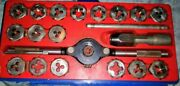 misc Vintage Snap On Tap And Die Set With Box And Tray Great Condition