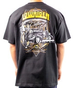 Lowrider Clothing Pachuco T-shirt Old School Authentic Chicano Culture Raza