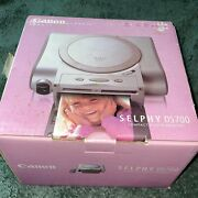 Canon Selphy Ds700 Compact Photo Color Inkjet Portable Digital Printer
