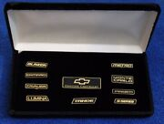 Chevrolet Pin Case With 10 Pins Accessory Fits Camaro Blazer Gm Bowtie Tahoe