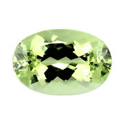Flawless Tourmaline 15.27ct Mint Green Color 100 Natural Earth Mined Mozambique