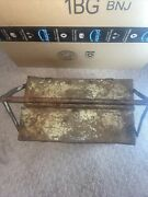 Vintage 1920and039s Snap On Portable Tool Box All Metal Cantilever Patent No. 1675484