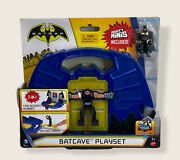 Batman Batcave Playset Mighty Minis Included 2-in-1 Case Becomes Playset
