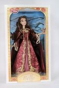New Disney Winter Belle Doll Heirloom Fairytale Limited Le Beauty And The Beast