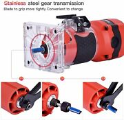 Compact Wood Palm Router Tool Hand Trimmer Woodworking Joiner Cutting Palmming