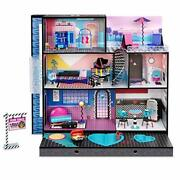 Lol Surprise Omg House – New Real Wood Doll House With 85+ Surprises   3 Stories