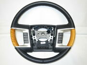 Lincoln Mkx Ford Genuine Wood Combination Steering Handle Switch Navigar