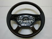 W221 Class W219 Cl Genuine Wood Combination Steering Handle Agement Number