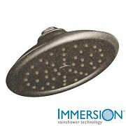 Moen S6310orb 2.5 Gpm Single Function Rain Shower Head With Immersion Technology