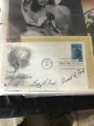 Gerald And Betty Ford Signed Authenticated Autograph Coa