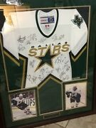 2005 Dallas Stars Nhl Stanley Cup Champs Team Signed Jersey
