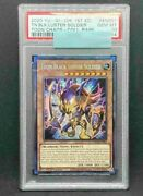 Yu-gi-oh Psa10 Toon Black Luster Soldier Toch-en001 Collectors Rare 1st English
