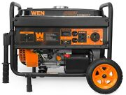 4750w Power Portable Generator With Electric Start And Wheel Kit Carb Compliant