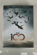 The 100 Complete Series Season 1-7 Dvd 24-disc Sealed Us Region 1 New
