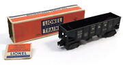 Used Lionel 3456 Operating Norfolk And Western Hopper Car W/box