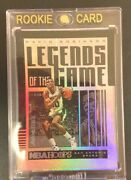 2020-21 Panini Hoops David Robinson 1of1 Legends Of The Game Nba F/s