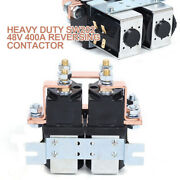 Reversing Contactor Heavy Duty Sw202 48v 400a For Golf Cart Parts Oem Quality