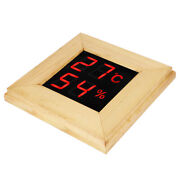 Sauna Themometer Gague Wall‑mounted For Spa Humidity Temperature Meter