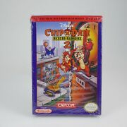 Chip And039n Dale Rescue Rangers 2   Cib   Nes   Sold By Former Capcom Executive