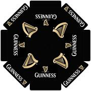 Guinness Stout W/ Harp Logo 7 Foot Beer Umbrella Market Patio Style New Huge