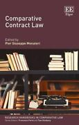 Comparative Contract Law Research Handbooks In Comparative Law Series, , Pier