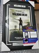 The Walking Dead Psa Andrew Lincoln Autograph Signed Professional Framed 12x18