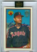 2021 Bert Blyleven Topps Archives Signature Series Hof 1/1 In Hand And Free Ship