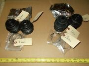 Honda 600 Coupe Sedan 4 Cv Boots Set W/new Clamps Grease - 2 Inners And 2 Outers