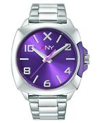 Xny Unisex Watch City Chic Stainless Steel Case And Bracelet Bv8104x1