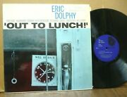 Eric Dolphy Out To Lunch Blue Note Lp Ua In Shrink Superb