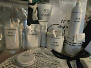 Limited Edition Factory 5, No5 Bundle Of 11 Items And Gabrielle Body Wash