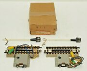 Marklin Ho Scale 3600/5014 Eks M Uncoupler Track And Light Mast-2 Pieces In Box