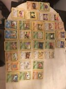 Vintage Pokemon Card Collection Very Large