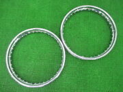 Bsa Genuine Bike Parts Gold Star Wheel Rim Before And After 198