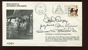 Judy Resnik , Guion Bluford, Seddon And Gregory 4 Astronaut Signed 1978 Cover