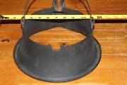 Antique Wagner Ware Sidney Waffle Cast Iron High Base 1910