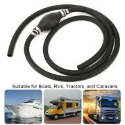 For Boats Carsandtractors Marine Motors Fuel Gas Line Assembly With Rubber Bulb
