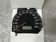 Out-of-print Mitsubishi Cp9a Lan Evo Export Genuine 260k Full-scale Speedometer