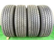 Ad Vay12 Studless Tire 165r13 6pr Set Of Dunlop Winter Maxx With Genuine Steel