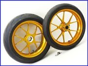W4 1098s Genuine Marchezini Aluminum Forged Wheels Front And Rear Set Gold 1198/
