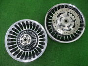 Harley Genuine Bike Parts Flhr1580 Wheel Before And After Good Conditions No