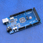 Mega 2560 R3 Microcontroller Board Compatible Ch340g Arduino With Usb Cable Mg