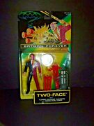 Dc Comics Batman Forever Two Face W/turbo Charge Cannon And Good/evil Coin Nip
