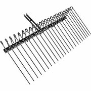 Landscape Rake 60 Inch Wide Tractor Rake 3-point Tow Behind Rake With 25.6